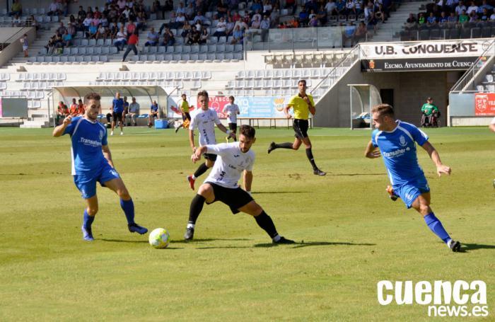 El Conquense gana al Madridejos con goles de Canty y Zequi (2-0)