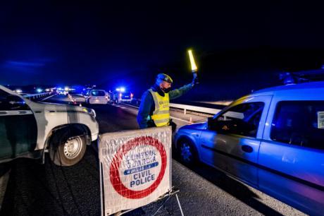 Castilla-La Mancha refuerza los controles en las carreteras durante la Semana Santa