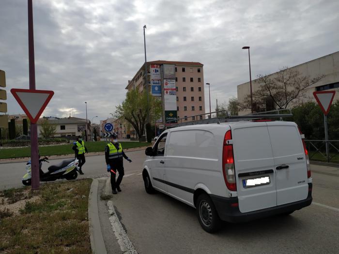 Se observa un repunte en el número de vehículos que circulan por el casco urbano