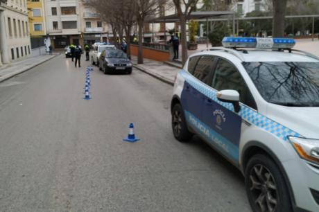 Policía Local y Agentes de Movilidad llevan a cabo controles de vigilancia de las condiciones del vehículo