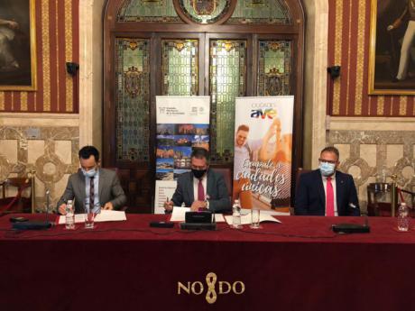El Grupo de Ciudades Patrimonio de la Humanidad firma un acuerdo de promoción turística con la red de Ciudades AVE