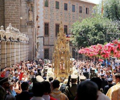 Toledo suspende el Corpus