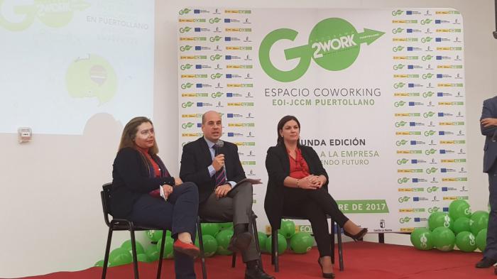Castilla-La Mancha respalda las iniciativas de jóvenes emprendedores en espacios CoWorking