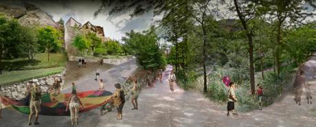 El Consejo de Gobierno aprueba un gasto de 85.000 euros para desarrollar el proyecto del ascensor 'Zóbel' al Casco Antiguo