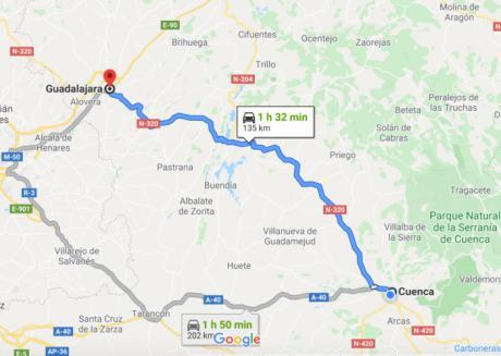 Cuenca y Guadalajara tendrán movilidad interterritorial a partir del lunes cuando entren en la Fase 3