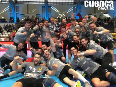 El Liberbank Cuenca a un sólo paso de jugar la primera final de su historia (33-36)
