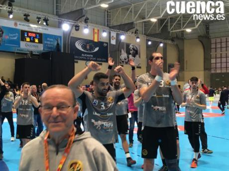 Fraikin Granollers-Liberbank Cuenca y Logroño-Barcelona, semifinales de la Copa del Rey