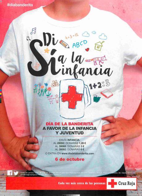 Cruz Roja dedicará el 'Día de la Banderita' a favor de la Infancia y la Juventud