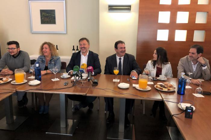 PSOE y Cuenca Nos Une afirman cumplir 100 días de gobierno 'fuertes y unidos'
