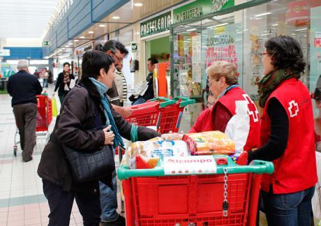 Cruz Roja ha recogido 1,2 millones millones de desayunos y meriendas #conCorazón