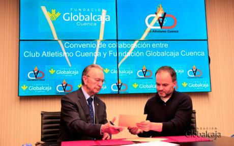 La Fundación Globalcaja Cuenca colabora con el Club Atletismo Cuenca