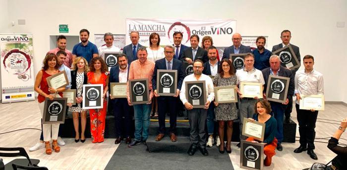 """Globalcaja, en los premios """"Vino y Cultura 2019"""" de la D.O. La Mancha"""
