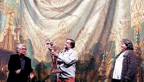 Premios Galicreques 2019 entregado a Ángel Suárez