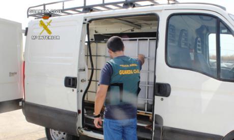 La Guardia Civil investiga a tres personas por un hurto de 700 euros en una gasolinera