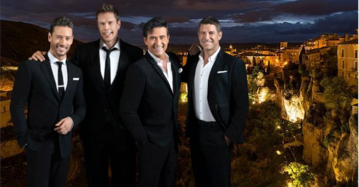 Cancelado el concierto de 'Il Divo' en Cuenca