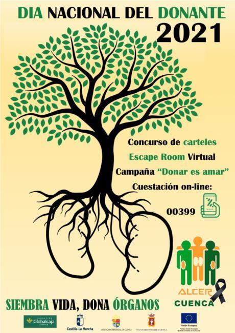 ALCER Cuenca se une a la celebración de la Unión de Trasplantados de Órganos Solidos