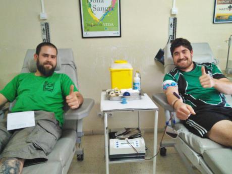 El Club Rugby A Palos lanza un año más su campaña de donación de sangre