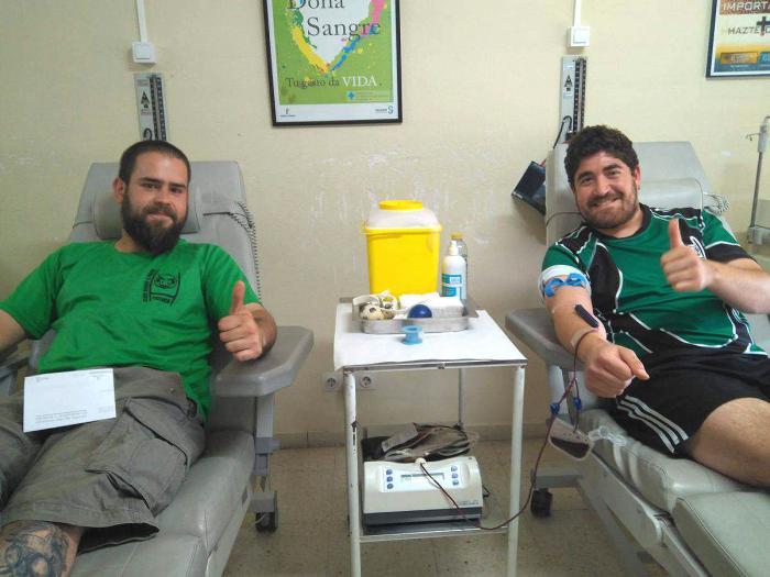 El Club Rugby A Palos promueve una nueva campaña de donación de sangre