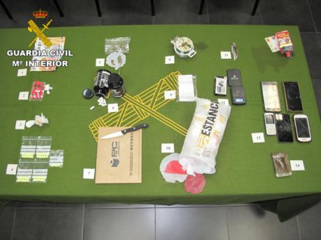 Detenidas dos personas por tráfico de drogas en la provincia