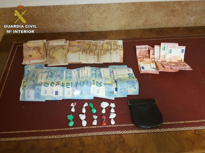 Detenida una persona en Tarancón por tráfico de drogas