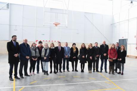 El IES 'Pedro Mercedes' ya cuenta con nuevo pabellón deportivo