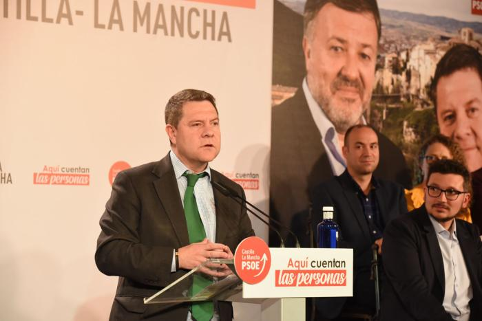 García-Page anuncia un decreto para los tiempos máximos de respuesta en urgencias