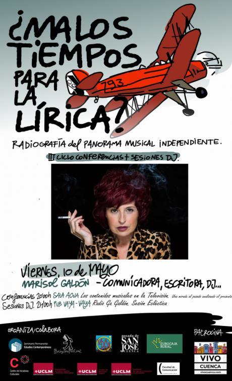 Marisol Galdón impartirá esta noche la conferencia en las jornadas ¿Malos tiempos para la Lírica?