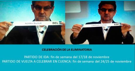 El Liberbank Cuenca pone a disposición de sus aficionados 150 entradas para el histórico partido europeo en tierras belgas