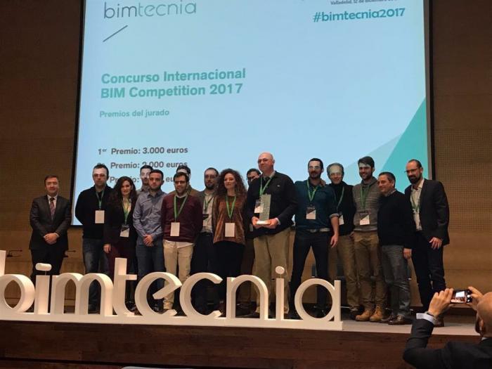 Investigadores de la Escuela Politécnica logran el primer premio del concurso internacional de modelado de información de la construcción