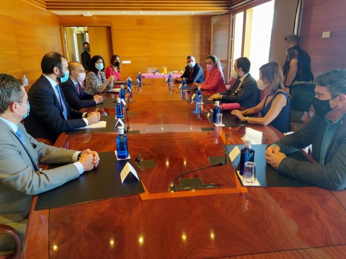 Propuestas del COFCAM en el acto en las Cortes regionales con motivo de la celebración del Día Mundial del Farmacéutico