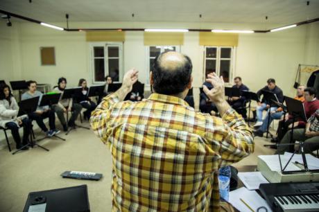 """El Coro de Cámara Alonso Lobo ultima sus ensayos para el concierto """"Exequias para un Rey"""""""