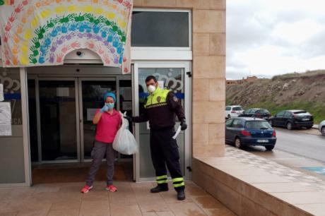 El Ayuntamiento de Cuenca entrega material de protección para el hospital y otros centros