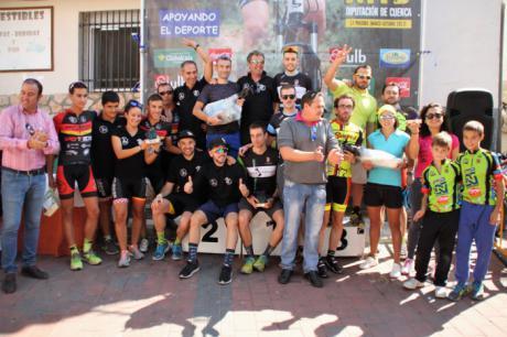 Juan Carlos y Carla Fernández se imponen en Cañizares en la 14ª prueba del X Circuito MTB Diputación de Cuenca
