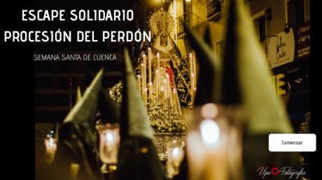 """La Hermandad de La Esperanza lanza un """"Escape online solidario"""" sobre la procesión del Perdón"""