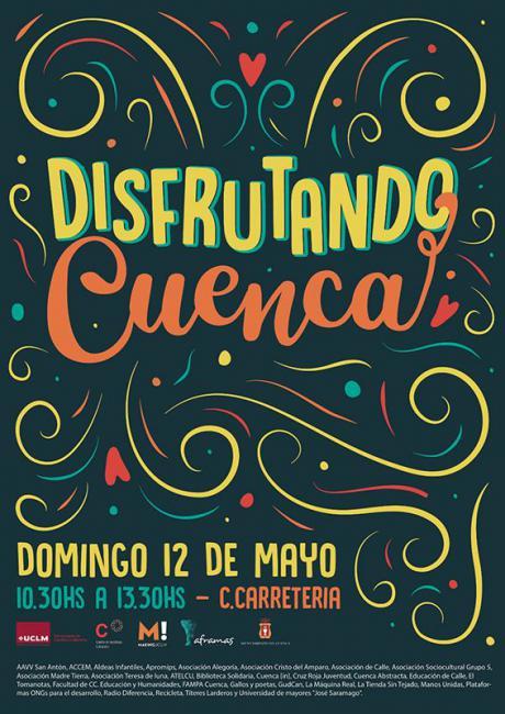 Este domingo, todos invitados a Disfrutando Cuenca 2019
