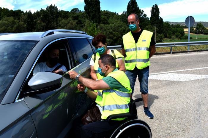 Personas con lesión medular de Cuenca concienciarán a los conductores en los controles sobre vigilancia de la velocidad
