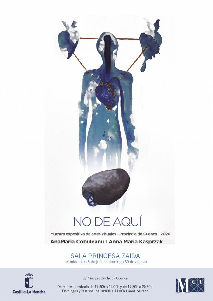 La Sala Princesa Zaida acoge la exposición ´No de aquí´ de las artistas Ana María Cobuleanu y Ana María Kasprzak