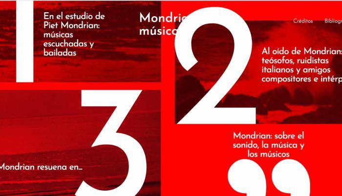 La Fundación Juan March estrena la exposición digital Mondrian y la música