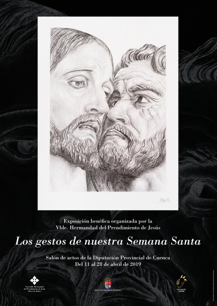 """La V. H. del Prendimiento de Jesús inaugura este jueves la exposición benéfica """"Los gestos de nuestra Semana Santa"""""""