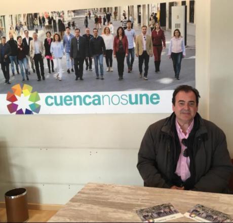 """Gómez Cavero: """"Entre todos vamos a hacer de Cuenca una ciudad para quedarte"""""""
