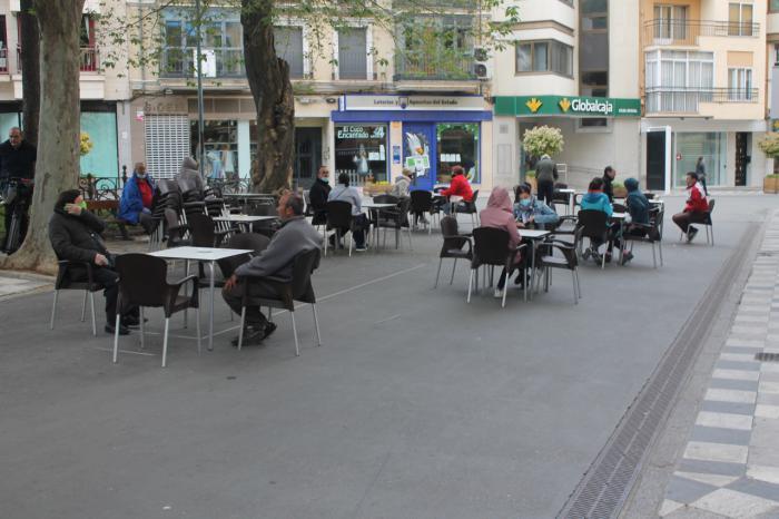El centro estrena fase 1 recobrando el pulso con dos terrazas y apertura de comercios