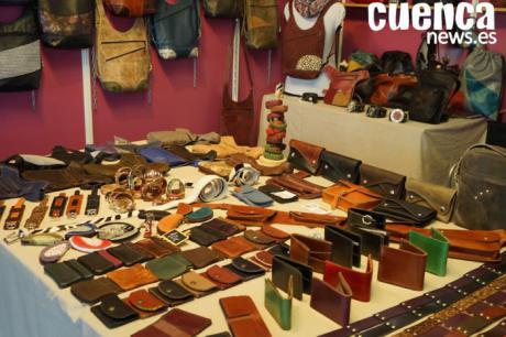 El producto 'Hecho en Cuenca' protagoniza un mercado artesano de navidad
