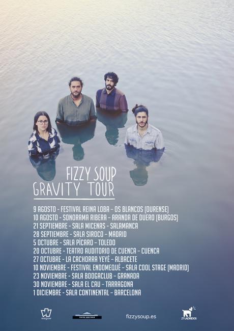 La banda conquense Fizzy Soup presenta Nuevo Vídeo Clip titulado 'Gravity'