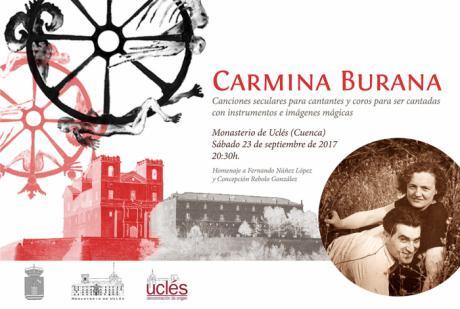 Éxito de la presentación en Madrid de Carmina Burana, espectáculo único que se celebra en Uclés el 23 de septiembre
