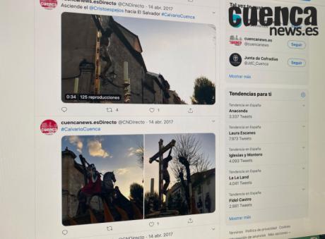 Cuenca vivirá una Semana Santa virtual