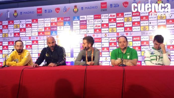 Copa del Rey | Sala de prensa >>> Helvetia Anaitasuna - Liberbank Cuenca