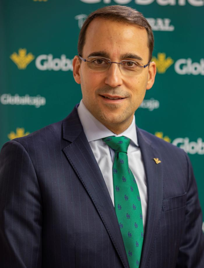 Pedro Palacios, director general de Globalcaja