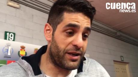 David Mendoza, jugador del Liberbank Cuenca valora el pase a la final del equipo