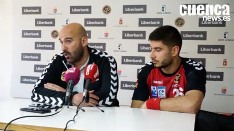 Sala de Prensa EHF CUP| Lidio Jiménez y Kristijan Eskericic - [Liberbank Cuenca 26- 29 FC Porto Sofarma]