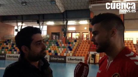 Previa Liberbank Cuenca - BM. Granollers | Natan Suárez analiza el próximo encuentro de su equipo